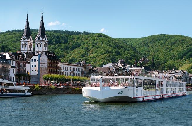 Viking Rhine River itinerary