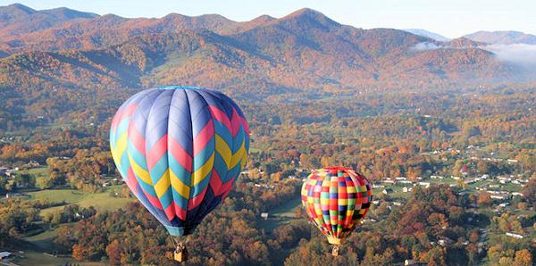 Asheville-Hot-Air-Balloons